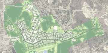 Master Plan of Southfield Development